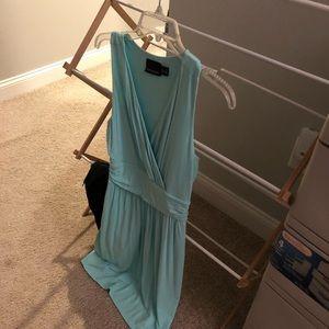 Turquoise dress size medium